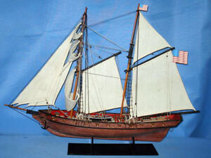 Wooden Handcrafted Model 1812 Warship 24 Limited High Museum Quality Amazing