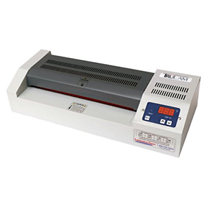 Pouch Laminator With 4 Rollers Temperature Control Laminates Photos 12 Inches