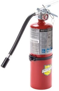 Dry Chemical Handheld Fire Extinguisher W Aluminum Valve W Vehicle Bracket