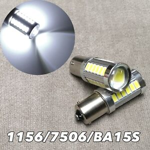 1156 33 Smd Led Projector Lens 6000k Bulb Back Up Reverse Light For Chevrolet