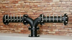 New Draft Beer Tower D arc y Glycol Cooled 12 Faucets Commercial