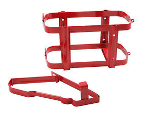 Red Jerry Can Holder Bracket Mount For 5 Gallon Gas Storage Jug Fuel Gasoline