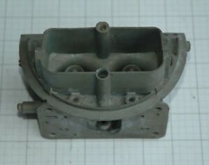 1962 63 2499 Holley Ford T bird Tri Power End Carb Main Body Only C2se e Used