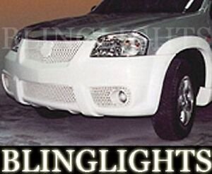 2001 02 03 2004 Mazda Tribute Erebuni Body Kit Bumper Fog Lights Driving Kit