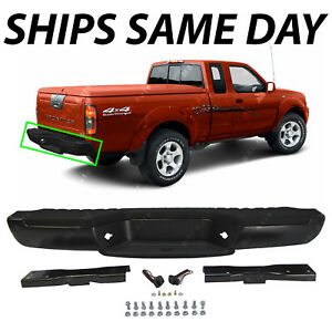 New Primered Steel Rear Step Bumper Assembly For 1998 2004 Nissan Frontier 98 04