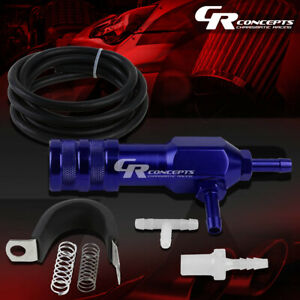 Adjustable Racing Turbo 30 Psi Manual Closed Loop Boost Bypass Controller Blue