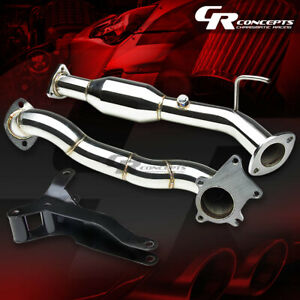 For 02 05 Honda Civic Si Sir Ep3 Racing Spec Turbo Downpipe Exhaust Bracket Kit