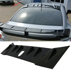 Fits 13 20 Scion Frs Subaru Brz 2dr Cs V1 Style Roof Spoiler Wing Abs