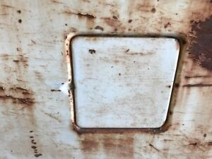 Fuel Filler Door 1955 1956 1957 1958 1959 Chevy Gmc Suburban Or Panel Truck