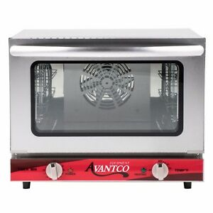 Commercial Electric Convection Oven Avantco 1 4 Countertop Pizza Restaurant Deli