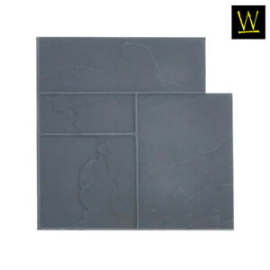 Ashler Notched Slate Floppy single Flex Concrete Stamp