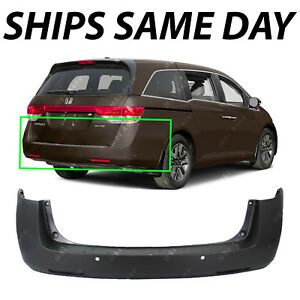 New Primered Rear Bumper Replacement For 2011 2017 Honda Odyssey 11 17 W Park