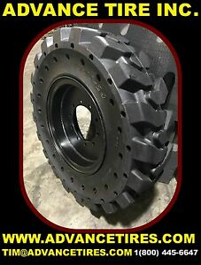 1300 24 Ta Solid Tires And Wheels Telehandler Tires Jlg Tires Flat Proof Tires