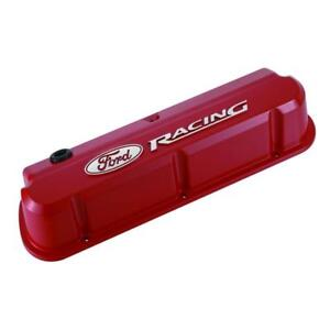 Proform Engine Valve Cover Set 302 143 Ford Racing Red Aluminum For Ford