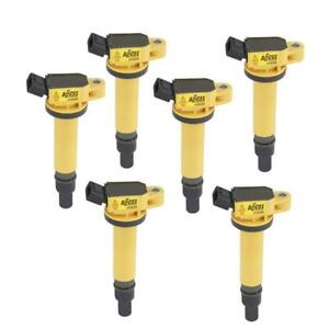 Accel Ignition Coil 140495 6 Super Coil Yellow Coil On Plug For 2003 12 Toyota