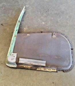 1955 Cadillac Fleetwood 4 Dr Front Door Air Heater Vent Air Duct Work Passen
