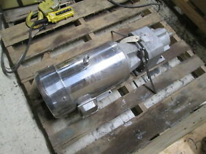 Max Motion Stainless Steel Ac Motor W Gear Mqs 704t 7 1 2hp 1800rpm Fr 213tc