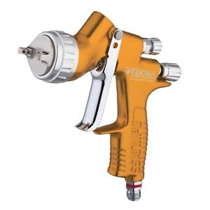 Devilbiss 704198 Tekna 1 2 1 3 1 4mm Clearcoat Gravity Feed Spray Gun Uncupped