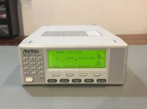 Anritsu Ml2438a 10 Mhz 110 Ghz Dual Channel Power Meter Rear Panel Connectors