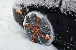 Autosock Snow Socks 540 Traction Wheel Covers For Snow Ice Easy To Use