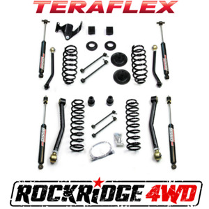 Teraflex 07 18 Jeep Wrangler Jk 4 Door 3 Lift Kit W 4 Flexarms