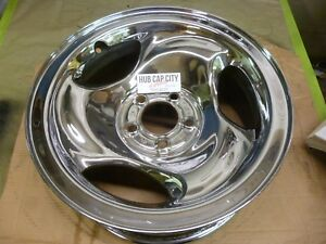 1995 1996 All Chrome Ford Ranger Explorer 16 Inch Steel Wheel Hollander 3203 C