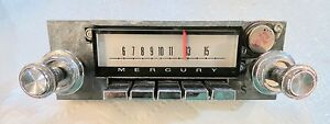 Vintage Ford Mercury Park Lane S55 Car Radio Oem Nice