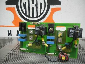 Haas laser 18 13 13 ah V1 2 Circuit Board Used With Warranty