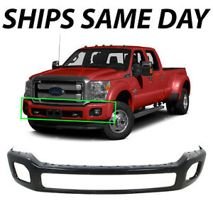 New Primered Steel Front Bumper Fascia For 2011 2016 Ford F450 Super Duty 11 16