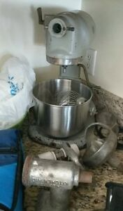 Hobart Model N50 Commercial Mixer 5 Quart 3 Speed a1 With All Original Attach