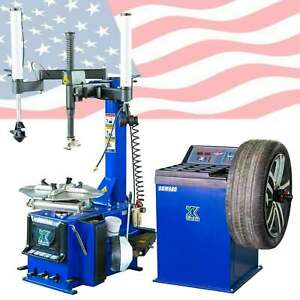 New 988 Tire Changer Wheel Balancer Machine 680 Combo Rim Clamp