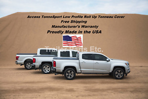 Tonnosport Roll Up Cover By Access 2015 2020 Chevy gmc Colorado Canyon 5 Bed