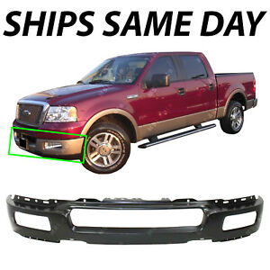 New Primered Steel Front Bumper Face Bar For 2004 2005 2006 Ford F150 Light Duty