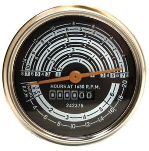 Early Allis Chalmers D15 Gas Tachometer Tach Operation Meter 70242375