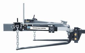 Rv Reese Pro Series 49903 Round Bar Weight Distribution Hitch 1000lb W sway Cont