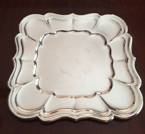Reed Barton Windsor Pattern Sterling Silver Tray No Monogram X958k