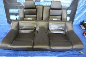 2012 Ford Mustang Gt 5 0 V8 Oem Black Leather Rear Seats 1074
