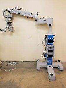 Zeiss Dual Head Opmi Cs xy Footswitch S4 Stand Opthalmic Microscope Inv 2676