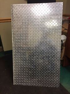 3 16 0 1875 X 12 5 X 28 Long 3003 Aluminum Diamond Tread Plate Sheet