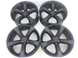 20 20 Inch Oem Factory Black Dodge Charger Rt R t Wheels Rims Set Of 4 2529used
