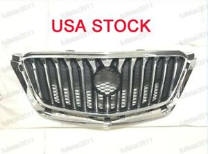 Chrome Black Front Upper Hood Grill Grille For Buick Encore 2013 2016
