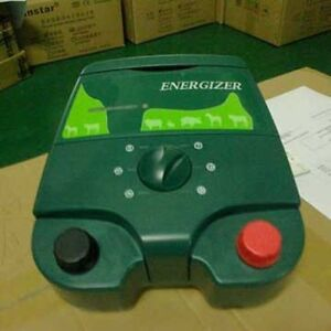 Electric Fence Energizer Charger With Tester Big Farm Livestock Controller