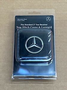 Mercedes benz Genuine 2 Tow Hitch Receiver Plug Cover Lanyard New G Ml Gl