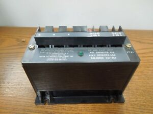Allen Bradley Bulletin 813s Line Voltage Monitor Relay 813s vob 480v Used