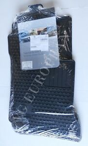 Mercedes benz W204 C class Coupe Genuine All Season Rubber Floor Mat Set New