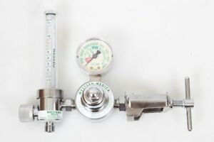 Western Medica Single Stage Flowmeter Style Oxygen Regulator M1 870 15fm