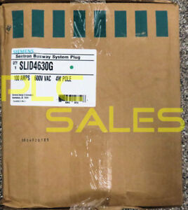 Siemens Slid4630g Sentron 600v 100a Fusible Busway Switch nibfs