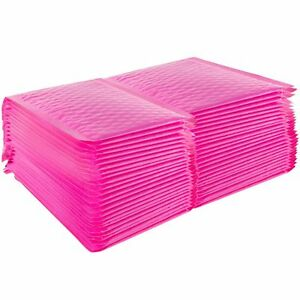 Yens 250 0 Pink Poly Bubble Padded Envelopes Mailers 6 5 X 9 250pm pink