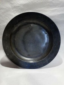 Huge English Pewter Charger 16 3 Mid 18th Century