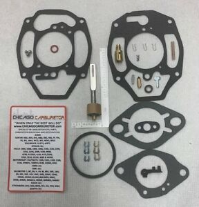 1932 62 Carb Kit Rochester B Bc 1 Barrel Chevrolet 216 235 Eng New Ethanol Tol